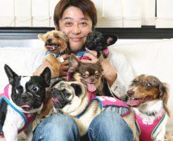 坂上忍さんと12匹の愛犬